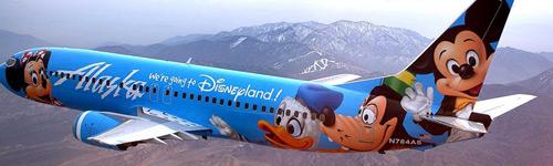 Alaska Airlines Disneyland