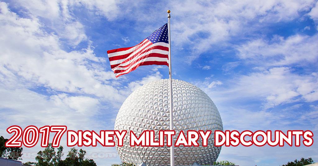 2017 disney military discounts